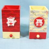 Hot En71 Wooden Kids Pencil Box in MDF