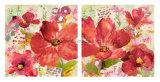 "Beautiful Flower Printed Canvas 20*20"" Handmade Canvas Painting"