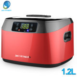 Skymen Jewelry Cleaner Jp-1200b 1.2L Ultrasonic Cleaning Machine with Stainless Steel Tank