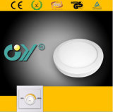 Dimmable 20W Round Super Slim Surfaced Mounted LED Panellight