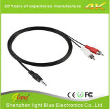 3.5mm Male Audio Video Extension Cable RCA Male Extension Cable