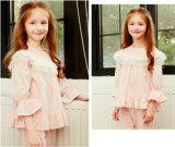 Sweet Little Princess Falbala Long Sleeve Lace Sleep Suit