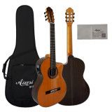 Aiersi Solid Top Electrical Classical Guitar with Great Design