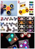 Anti Stress Toy Fidger Spinner with LED in Stock