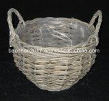 Willow Flower Basket