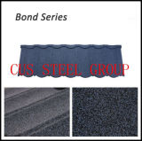 Bond Types of Sand Coated Metal Roofing Tiles / Terracotta Color Stone Chip Steel Roof Panel