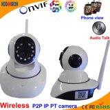 720p IP Pan Tilt WiFi P2p Cameras