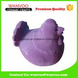 OEM Little Rooster Shape Porcelain Animal Money Bank Coin Savings