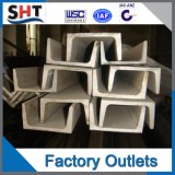 Hot Rolled Ss400 Channel Steel-C