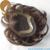 Remy Indian Human Hair Toupee Men′s Toupee