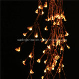 Firecracker Lights Copper Wire String Lights Ledoutdoor Warm White Firefly for Party Weddings