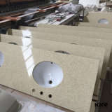 High Polish Artificial Solid Surface Kitchen Countertop