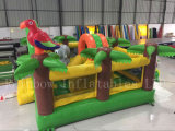 New Arrival Forest Animal Giant Inflatable Funcity Course for Kids