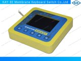 Snaptron Metal Dome Keys Membrane Switch Assemblied with Silicone Rubber Bezel for Crane Use