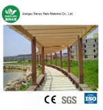 No Cracking Wood Plastic Composite Outdoor Pergola