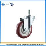 Professional Manufacturer PU Swivel Caster Wheel in Screw Polyurethane Thread Caster Wheel (N330)