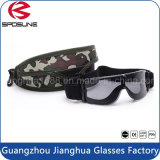 Wholesale High Impact Resistance Black Frame Military Goggles Tactical Clear Yellow Lens Army Goggles