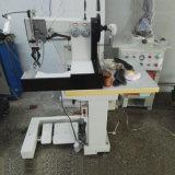 Shoe Upper Pattern Directly Forming Double Needle Moccasin Sewing Machine