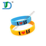 2017 China Wholesale Fashion Customized Silicone Wristband