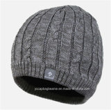 Hotselling Men′s Wool Knitted Beanie Hat Cap