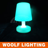 Modern Life Rechargeable Colorful LED Hotel Table Lamp