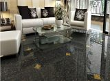 Black Color Pulate Polished Porcelain Floor Tile 800X800mm