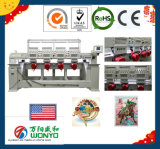 4 Heads Embroidery Machine for Cap T-Shirt and Flat Embroidery