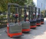 Electric Pallet Stacker Used in Warehouses, Factories