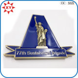 Custom The Statue of Liberty Challenge Coin