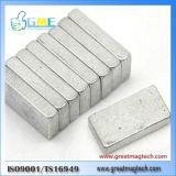N48 F20X10X5mm Silver Tone Rectangular Permanent Magnets