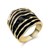 Retro Statement Latest Gold Finger Ring Designs