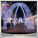Low Price Large White Outdoor Arch Christmas Lighting