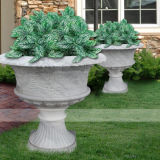White Marble Planters in Whole Sale Price