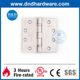 UL Ss304 Door Hinge for Metal Door 4.5X4.5X3.4 2bb