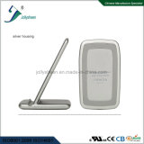 Intelligent Sailing Boat Fast High Efficiency Wireless Charger Silver Housing Nice Appearance Design