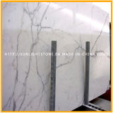 Polished Italy Carrara White Stone Marble for Tiles, Slabs, Countertops