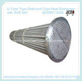 U-Tube Type Shell-and-Tube Heat Exchanger with SUS 304 (BEU273-1.0-4-0.98/20)