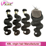 Promotion Price Brazilian Hair Weave and Hair Closure