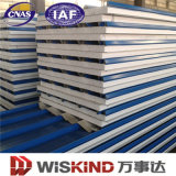 Heat Insulation PU/Rockwool/EPS Sandwich Panel Building Material