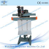 Aluminum Body Pedal Paper Bag Sealing Machine with Coder