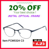 New Designed Metal Optical Frame with Decoration