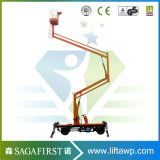 6m to 14m Hydraulic Electric Man Lift Aerial Bucket Lift Boom Lift