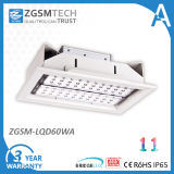 60W High Light Efficiency CE RoHS IP65 LED Recessed Light