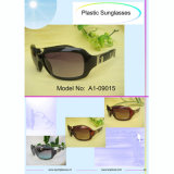Hot Selling Promotion Plastic Frame Unisex Sunglasses
