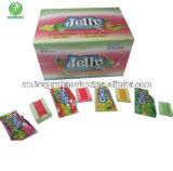 Chinese Fruit Flavor Jelly Bubble Gum
