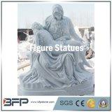 Wholesale White Granite Western Figure Sculpture Statue of Jesus