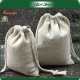 Customized Logo Printing Cotton Drawstring Bag