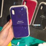 Original Silicone Case for Apple iPhone 8 Plus X 7 6 5 5s Se Genuine Cover