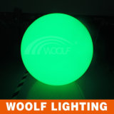 Remote Control Colorful Outdoor LED Plastic Ball Lights