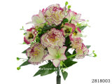 Artificial/Plastic/Silk Flower Carnation/Lily/Pansy Mixed Bush (2818003)